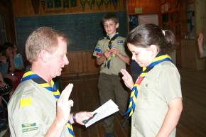 MAKING THE CUB SCOUT PROMISE